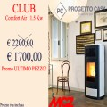 VENDUTA - Offerta Stufa MCZ Club